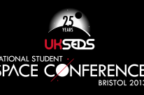 UKSEDS National Student Space Conference, Bristol 2013 logo.