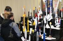 4-H model rockets at the Kansas State Fair 2007. Photo by Jessie Zerger