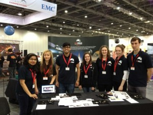 DAY 1 outreach volunteers at Big Bang Fair 2013