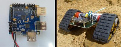 Prototype robot controller board. Credit: Aron Kidsi