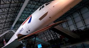 Main hangar of the National Museum of Flight