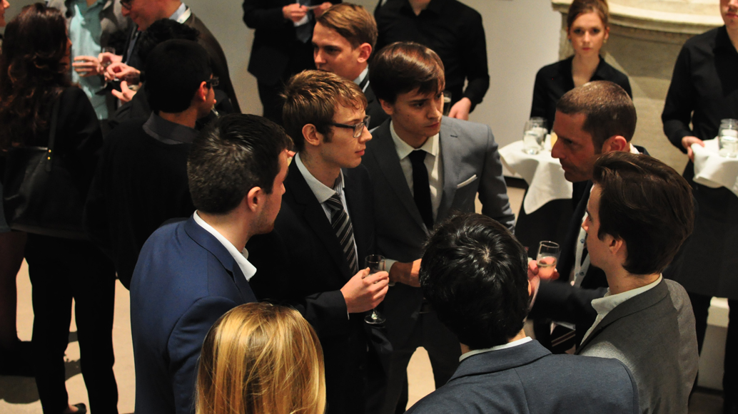 UKSEDS members network at one of our careers events
